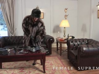 Female Supremacy - Baroness Essex - A Husband For All Seasons | forced cross dressing | fetish porn