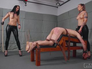 Femdom 2019 Cruel Punishments Severe Femdom Crazy Brutal Punishments Full Version Starring Mistress Kittina And Mistress Anette Caning Whipping  Slave