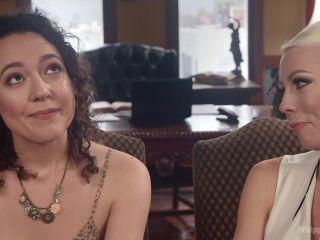 femdom goddess strap on   Lesbian Professor Seduces and Dominates Hot Co-Ed   spanking