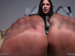 Porn online Pantyhose feet – I Want Amiee – They will never know