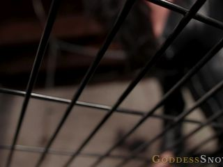 Goddess Alexandra Snow - Caged