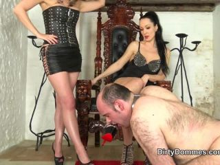 Dirty Dommes - Our Louboutin licker Part 1!!!