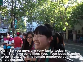 Picking up Girls with Client in Shanghai China