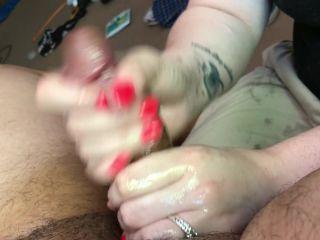 Milf handjob massage