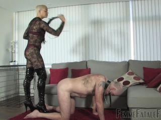 nikki next femdom Femmefatalefilms – The Hunteress – Tongue For Boots Part 1-3, pvc boots on fetish porn