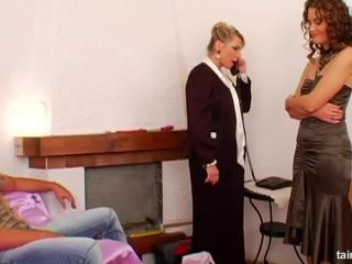 FullyClothedSex-Tainster - Sara, Karina Laska - She Gets Double-Stuffe ...