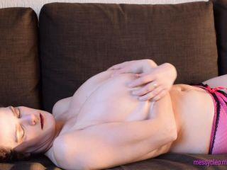 Big Boobs & Tiny Bra 1080p – Messy Cleo on solo female femdom strapon bondage