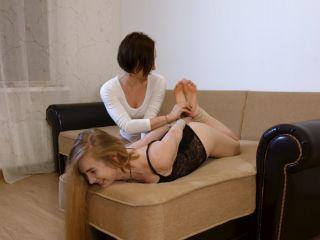 RussianFetish - Two Ural girlfriends. Yuna tickles Olya!!!