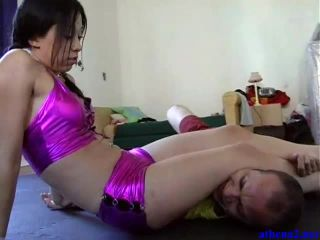 Athena2 - Lena K - HFW003 The Forgotten String - scissorhold on fetish porn