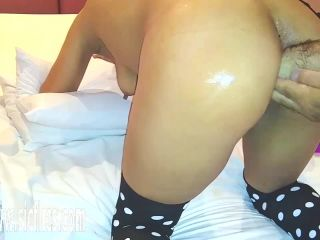 Double fisting Marias ass - 01.08.2019