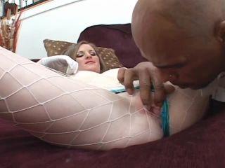 Lilly White Slut Gets Hard Black Cock