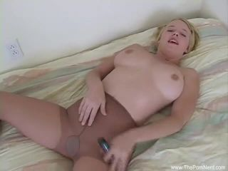 Short hair blondeis the perfect bitch