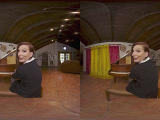 VRBTrans: Jamie French - Pickup Notes  - dildo - virtual reality
