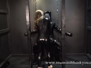 Tease And Thank You – No Means No. Starring Blake Tangent - femdom - femdom porn femdom cbt