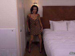 44 year old webcam MILF takes creampie