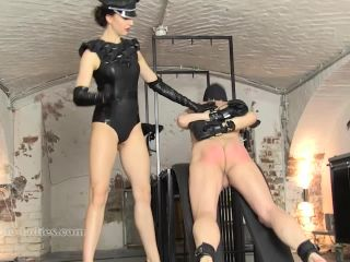 SADO LADIES Femdom Clips – Caned By Mephista –  Lady Mephista – Corporal Punishment, High Heels - sado ladies - femdom porn thigh fetish