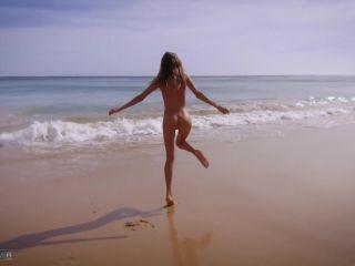 Katya Clover in Ocean beach HIPPY LIFE, katya clover on teen