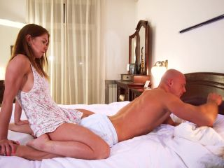My Step Sister Gets Anal Creampie doing me a Massage - Mia Mandini 4K