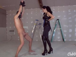 Boots, gloves, femdom