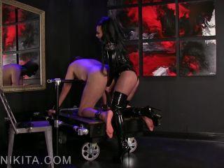 Mistress Nikita - Weak Boi on feet porn roxanne rae femdom