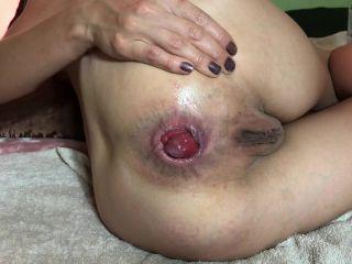 Maria Hella self fisting prolapse close up / Video price $11.99