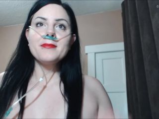Booty4U - Nasal Cannula With Red Lipstick