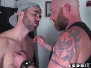 Bearded bear pounding tight butthole!