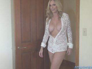 Video online Jodi West - Jodi's Humpday Handjob - Edging Step-son in Sheer Blouse