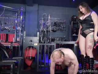 russian home anal The English Mansion – Anal Destruction – Part 1. Starring Mistress Evilyne , strapon on fetish porn