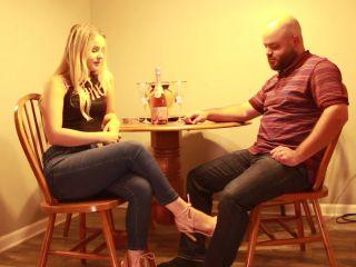 Kat Soless – Kat Gags Her Coworker – Foot Worship – Footdom, Femdom - footlicking - femdom porn foot fetish toys