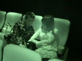 AOZ-069 Voyeur Couple Cinema