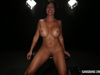 Shay fox in a filthy gangbang cum!!