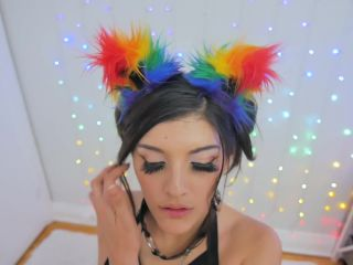 Ahegao Rainbow Kitty Slam