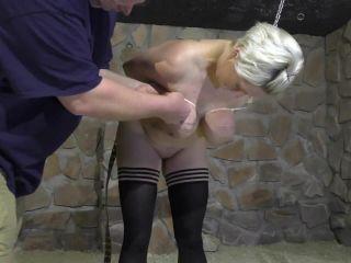 Zip Tie Tit Punishment for Nova Pink
