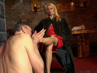 Sado-Ladies - Empress Victoria - Venus In Furs Worship - Shoe Worship!!!