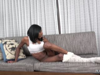 Online shemale video Jada Dickens Cums For You