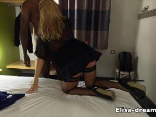 650 Elisa Dreams - Sex Challenge 2019 - Black Worker Fucks my Ass in f ...