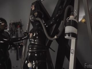001226 Rubber Latex Skin Dress
