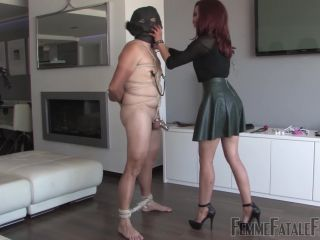 Femme Fatale Films – Teased In Chastity – Mistress Ursula*