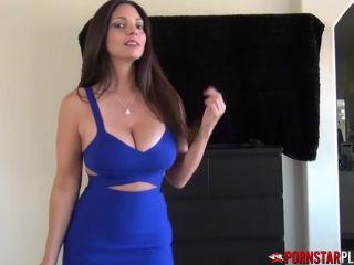 taboo stepmom  shows off panties