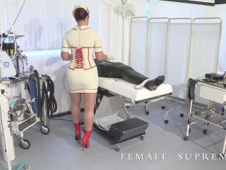Female Supremacy Clinic Starring Baroness Essex Forced Male Orgasm Milking Sperm Forced Ejaculation Forced Orgasm