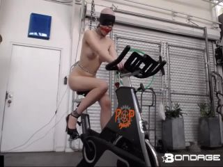 rachel Greyhound - Greyhound 30 Minute Estim Bike Challenge