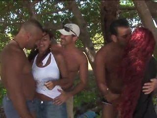 Sexxxotica #2: Babes In Brazil, Scene 4  | facials | group