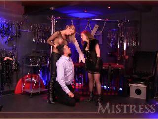 Mistress – T – Fetish Fuckery – Nikki Scissors & Wrestles | choking / scissors | femdom porn femdom trampling