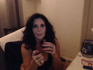 Porn tube MATURE MOM Smokes two at same Time with Big Feet Toe Sucking