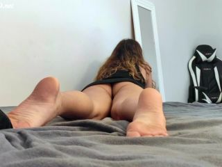 Perfect Footjob With Playful Sexy Teen – Gabby Ferraz – POV – 2 Cams View – Gabby Ferraz - footjob - handjob porn