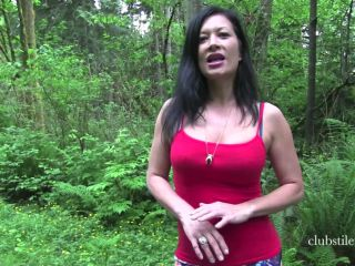 Club Stiletto – Miss Jasmine – Ballbusting In Nature on fetish porn barefoot princess femdom