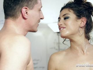 Julia Roca Has Her Hairy Pussy Pounded in the Office