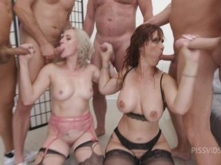 Filthy, Brittany Bardot & Syren De Mer #2 Wet, Anal Fisting, DAP, Gapes, ButtRose, Pee Drink, Cum in Mouth, Swallow GIO1923