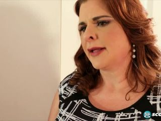 The super-busty MILF&039;s first time